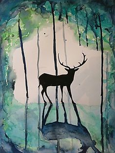 Awesome Deer painting