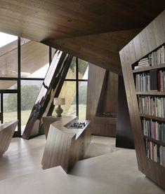 origami-2-house-by-daniel-libeskind. Daniel Libeskind, Architecture Design, Plans Architecture, Chinese Architecture, Architecture Office, Futuristic Architecture, Design Architect, Office Buildings, Estilo Interior