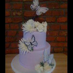 Butterfly birthday cake <3
