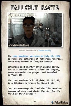 Happy Birthday!  More cool #Fallout facts:http://ift.tt/1eK1BGm  lonewanderer fallout