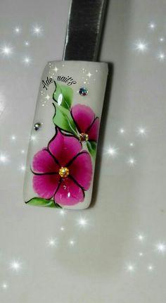 Wow Nails, Flower Nails, Manicure, Nail Designs, Hair Beauty, Nail Art, Duck Nails, Nail Jewels, Gel Nail