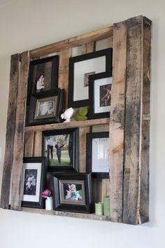 shelves from pallet