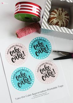 Show your appreciation for a special teacher! This miniature Bundt cake teacher appreciation gift idea is a snap to put together with these free printable tags. Great for teachers, coaches, principals, and more! Teacher Appreciation Gifts, Teacher Gifts, Birthday Gift For Teacher, Employee Appreciation, Birthday Presents, Notions De Couture, Easy Handmade Gifts, Free Printable Tags, Volunteer Gifts