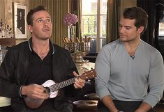 Henry Cavill and Armie Hammer - The Man from UNCLE