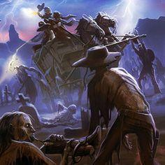 Zombie Western Scene