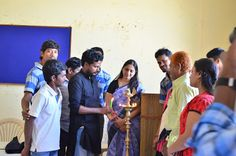 "India Youth for Society celebrated National Youth Day today at Public Library. Mrs N B Murthy began the meeting with the lighting the lamp. Talking to the gathering Mr. Murthy, ""The Nation needs the people like you."" Only youths can serve the community better. He admired the services rendered by the youth groups. He especially appreciated the efforts of Generation Yuvaa, an organization which works on eradicating child beggars. Generation Yuvaa works on a concept 'Do not encourage Child…"