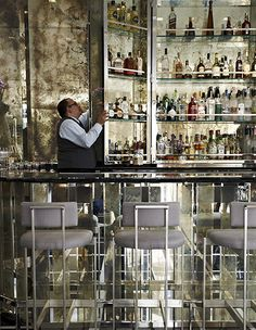 The bar at St Regis Bal Harbour Resort, Miami Beach