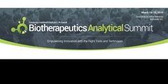 워싱턴 생물학적치료제분석 서밋 Biotherapeutics Analytical Summit 2016 Biotherapeutics Analytical Summit