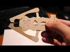 CNC - Robotic claw business card - YouTube