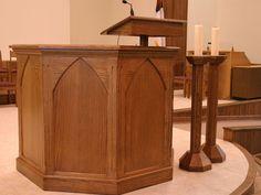 Welchwoods Custom Church furnishings