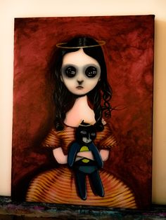 """Coraline"" oil on canvas 30x40 cm"