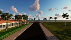 Urban Design, Sidewalk, Building Companies, Side Walkway, Walkway, Walkways, Pavement
