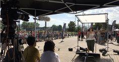 23 personas superan la audición en Barakaldo del concurso de televisión 'Operación triunfo'