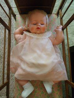 """VINTAGE  MADAME ALEXANDER KITTEN 24""""  BABY DOLL 1960's"""
