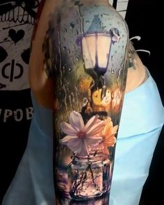 Incredible tattoo by © Ilya Fominykh, Kazan | Russia #colortattoo #tattoowork #realistictattoo #tattooink #tattoolover #sleevetattoo #tattoos #tattooink #ink