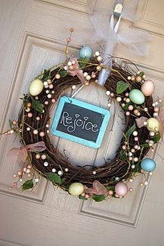 counting it all joy: Spring Wreaths