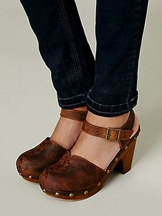 Jeffrey Campbell + Free People Daubs Clog at Free People Clothing Boutique