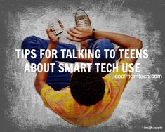 Excellent, actionable tips on how to talk to teens and tweens about internet safety.