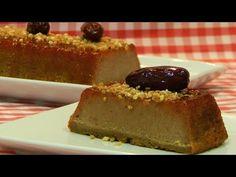 Pudin de dátiles receta fácil - Recetas de cocina con sabor tradicional