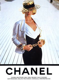 Chanel fashion in black and white www.finditforweddings.com