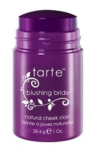 Tarte cheek stain goes on really nice without giving the look of too much blush on your cheeks and it's all natural.