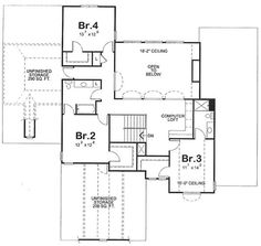 French, Country, House Plans - Home Design # 11673