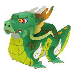 Dragon - Other Animals - Animals - Paper Craft - Canon CREATIVE PARK