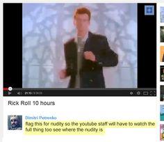 Trolling Youtube: Level 439932