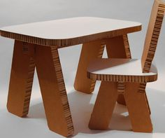 Furniture, Furniture Interesting Tiny Cardboard Table And Chair Furnitures Design For Kids Study Desk And Chair Marvelous Cardboard Furniture Designs To Inspire You Paper And Cardboard: Well Cartons Can Be Utilized Again To Make Various Crafts How To Make Cardboard Furniture Of Cardboard