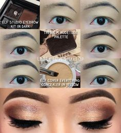 ELF EYEBROW KIT | Eyebrow tutorial using ELF's Studio Brow Kit, cheap but awesome!