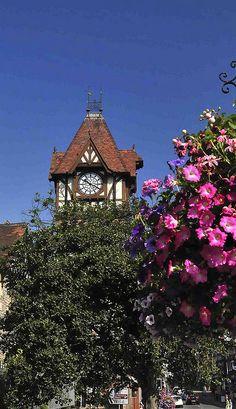 The Clocktower of Ledbury, England