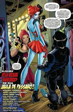 Os Novos 52! Arlequina #9 - Galáxia dos Quadrinhos