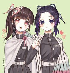 Check out our new Kimetsu no Yaiba merch here at Rykamall! Anime Angel, Anime Demon, Cute Anime Pics, Anime Girl Cute, Demon Slayer, Slayer Anime, Chica Anime Manga, Anime Art, Anime Sisters