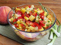 Homemade Fruit Salsa