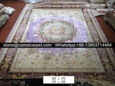 260L silk on silk rug #silkrug#silkcarpet#persianrug#persiancarpet