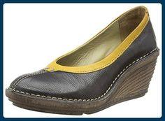 fly Brogues London Fly Femme Chaussures Noir Black 41 EU Palt BzxwE4
