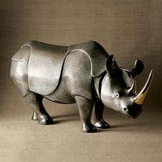 imperial rhino by loet vanderveen ... $6,695 at gumps