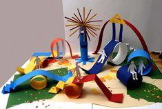 speeltuin van papier
