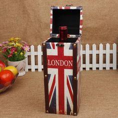 Retro Wine Storage Box