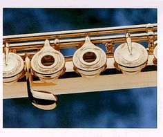 Someday...I would love a flute like this.  Hopefully it would play really well too.  It's beautiful!