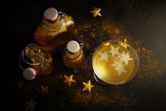 Sterntalersirup aus Vogelpersektive Light Bulb, Dishes, Home Decor, Pears, Syrup, Xmas Gifts, Sterne, Homemade, Christmas