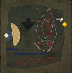Possibilities at sea,1932. Paul Klee