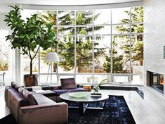 living room with a view - Calgary interior designer Nyla Free