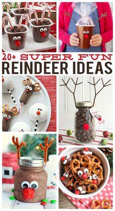 Over 20 Super Fun Reindeer Ideas