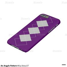 An Argyle Pattern 4 Barely There iPhone 6 Case