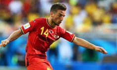 Belgium 2-1 Algeria: Mertens and Fellaini