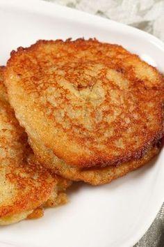 Mashed Potato Cakes #Recipe Just like my grandfather used to make. Kinda sad zac never got to try his.