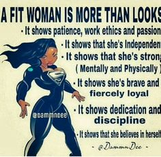 A fit woman