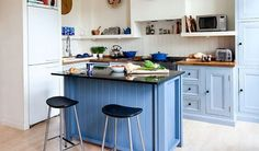 A true blue kitchen