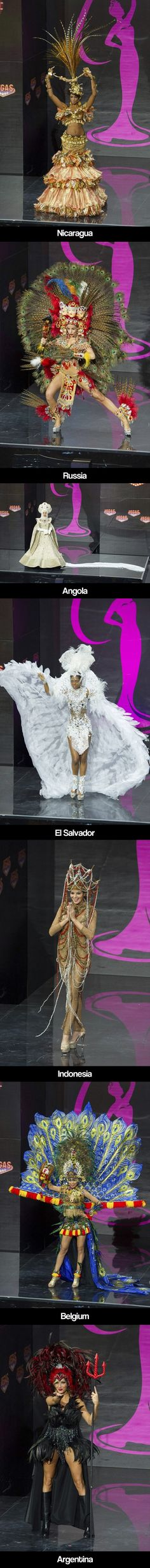 Miss Universe Parade of National Costumes